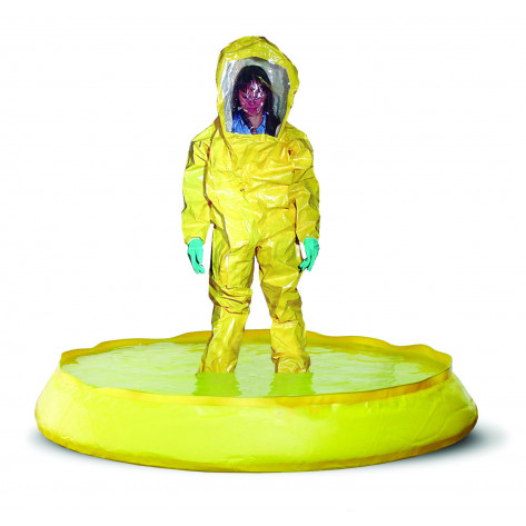 100 GAL SpillNEST Decon Pool - Yellow