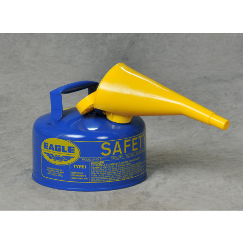 1 GAL Metal - Blue/F-15 Funnel