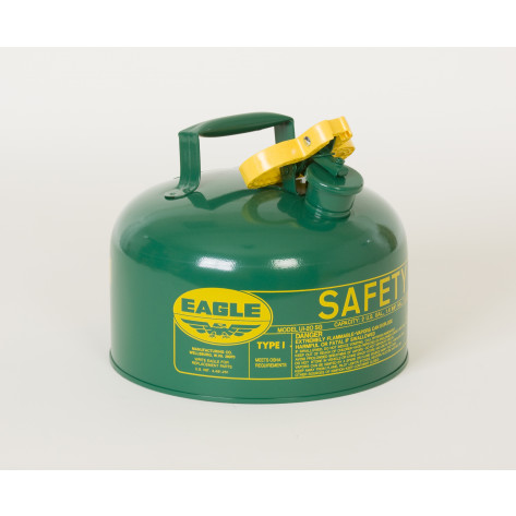 2 GAL Metal - Green (Oils or Combustibles)