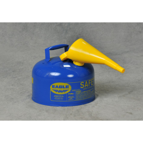 2.5 GAL Metal - Blue/F-15 Funnel