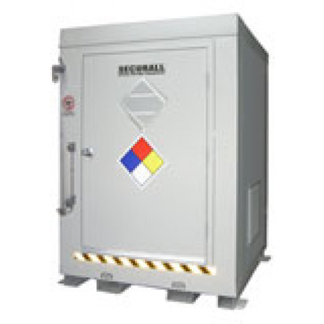 145.1 cu ft Agri-Chemical Safety Storage Locker FM Approved
