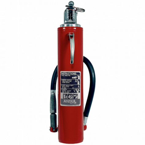 5 LB REDLINE CARTRIDGE OPERTATED PURPLE K FIRE EXTINGUISHER