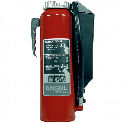 10 LB REDLINE CARTRIDGE OPERATED BC FIRE EXTINGUISHER