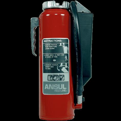 10 LB REDLINE CARTRIDGE OPERATED ABC FIRE EXTINGUISHER