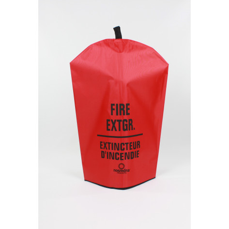 Fire Extinguisher Cover-Bi-Lingual -20 LB with no window
