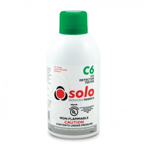 C6 Carbon Monoxide (CO) Detector Test Gas For Handheld use or SOLO330 Dispenser