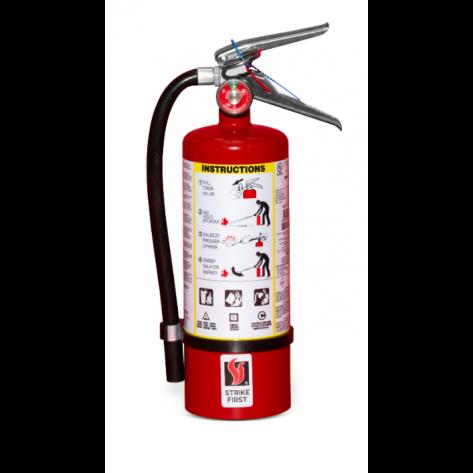 5 LB ABC FIRE EXTINGUISHER WITH VEHICLE BRACKET