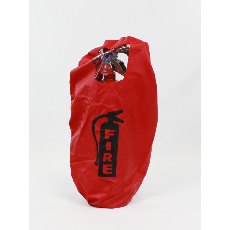 Fire Extinguisher Cover -English-5 LB with window
