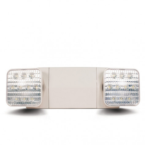 EMERGENCY TWIN SPOT LED LIGHT 4W THERMOPLASTIC 90 MINUTE