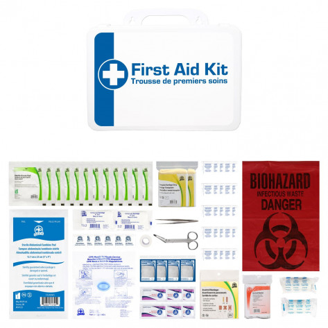 CSA, Type 2, Small Basic P16 Kit (Packaged in a plastic box) 2-25 employees per shift
