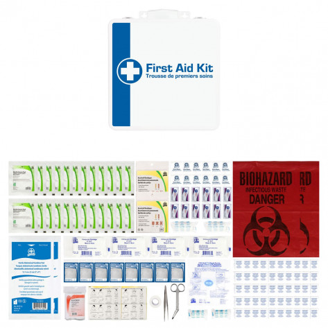 CSA, Type 2, Medium Basic M24 Kit (Packaged in a metal box) 26-50 employees per shift