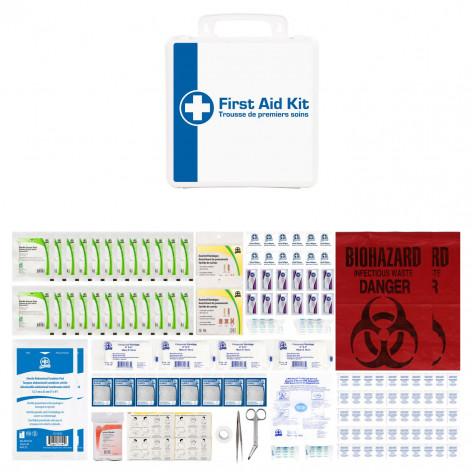 CSA, Type 2, Medium Basic P24 Kit (Packaged in a plastic box) 26-50 employees per shift