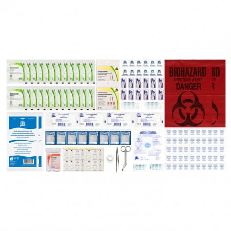 CSA, Type 2, Medium Basic Refill Kit (Packaged in a ziplock bag) 26-50 employees per shift
