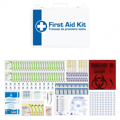 CSA, Type 3, Large Intermediate Unitized M02 Kit (Packaged in a metal cabinet) 51-100 employees per shift