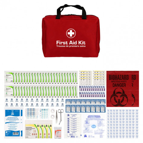 CSA, Type 2, Large Basic Soft Pack Kit (Packaged in a nylon soft pack) 51-100 employees per shift