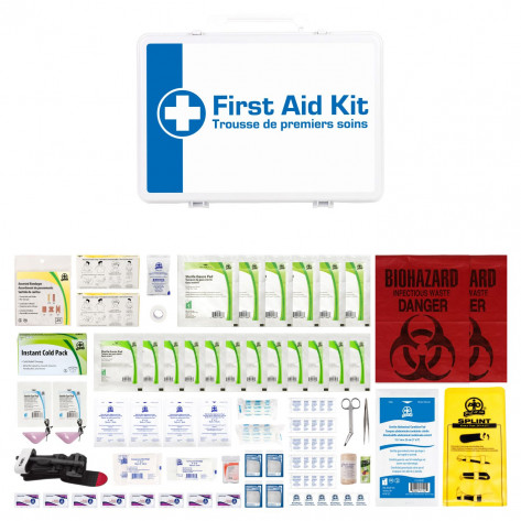 CSA, Type 3, Small Intermediate Unitized P36 Kit  (Packaged in a plastic box) 2-25 employees per shift