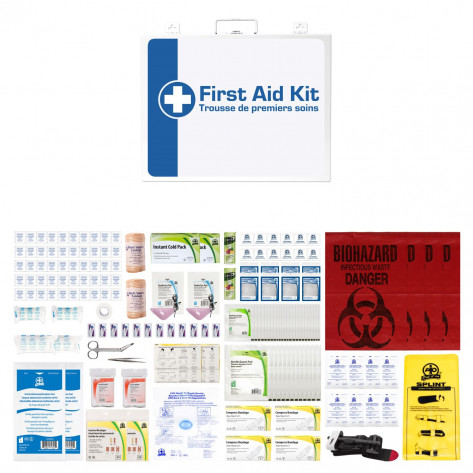 CSA, Type 3, Medium Intermediate Unitized M02 Kit (Packaged in a metal cabinet) 26-50 employees per shift