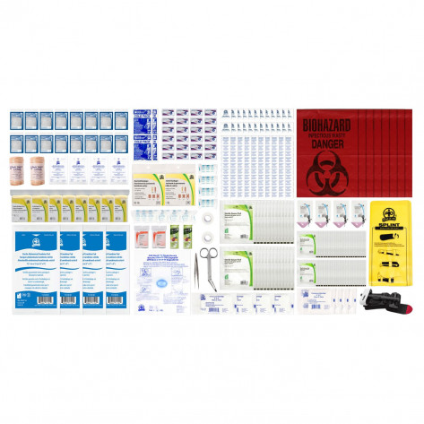 CSA, Type 3, Large Intermediate Refill Kit (Packaged in a ziplock bag) 51-100 Employees per shift