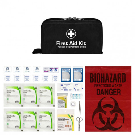 CSA, Type 1, Personal Soft Pack w/ Clip Kit (Package in Soft Pack) 1 employee or working in isolation