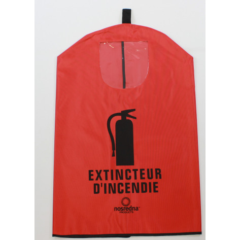 Fire Extinguisher Cover-French -30 LB with window