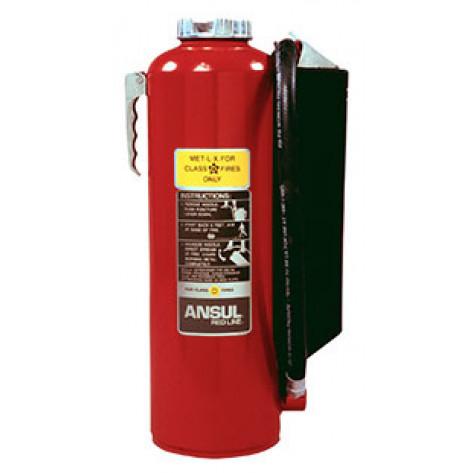 30 LB FIRE EXTINGUISHER MET-L-X 30 G CLASS D UL/FM APPROVED C/W WALL BRKT