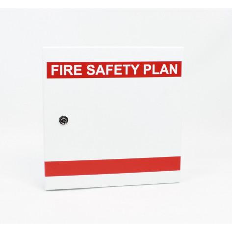 Fire Safety Plax Box - Keyed for Peel Region