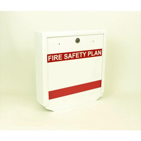 Heavy Duty Fire Safety Plax Box - Keyed for Peel Region