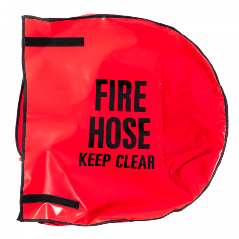 "HOSE REEL COVER FOR 24"" DIA REEL - ENGLISH"