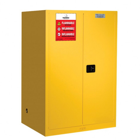 90 Gallon Manual Door Safety Cabinet 65 X 43 X 34 FM Approved