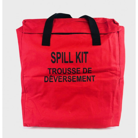 10 GALLON OIL ONLY SPILL KIT IN NYLON BAG
