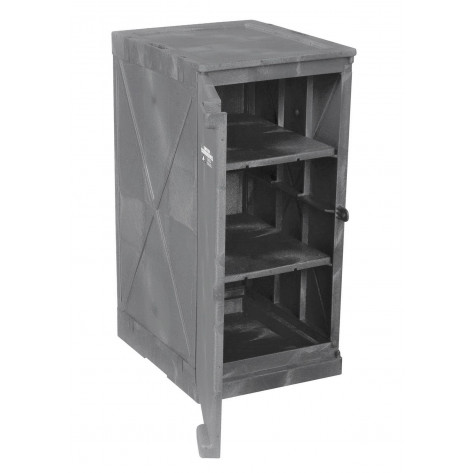 12 Gal Poly Cabinet One Door-Two Shelves