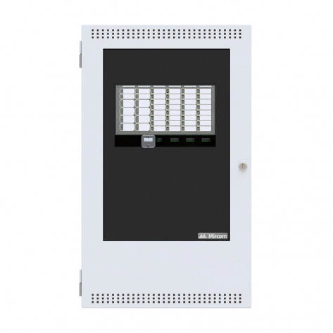 Fire Alarm System 8 Zone Panel White