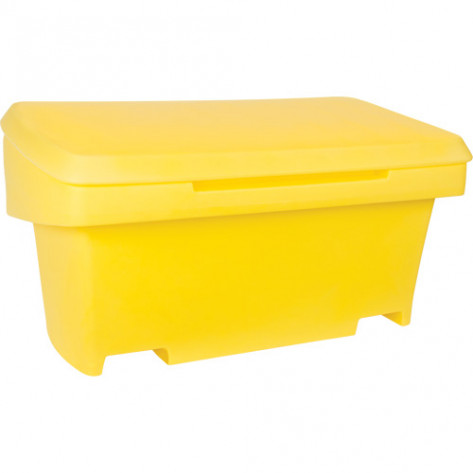 SALT AND SAND BINS 10 CU.FT CAPACITY -YELLOW