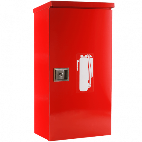 10LB HEAVY DUTY OUTDOOR CABINET-RED