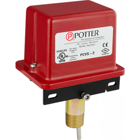 PCVS-2 Control Valve Supervisory Switch Two SPDT (Form C) contacts are provided