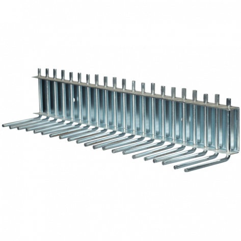 PIN RACK FOR 100' FIRE HOSE