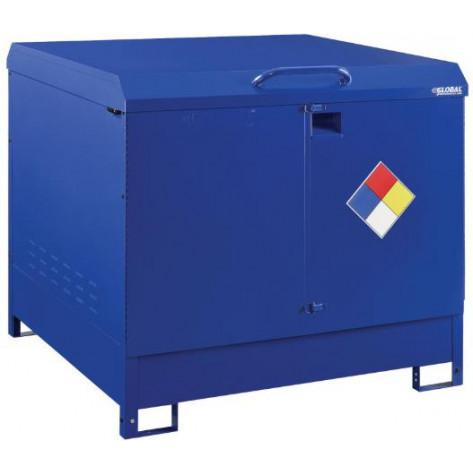 110 Gal Hazmat Outdoor 2 Drum Storage Station