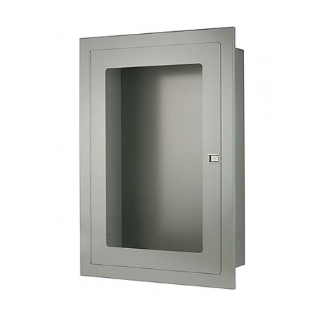 RECESSED FIRE HOSE CABINET 22 X30 X8 GREY