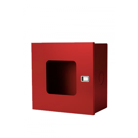 SURFACE MOUNT  VALVE CABINETS 14X 14X8 RED