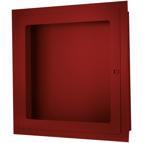 RECESSED FIRE HOSE CABINET 30 X30 X8 RED