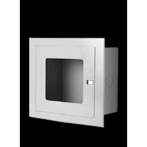 RECESSED VALVE CABINET 14 X 14 X8 STAINLESS STEEL