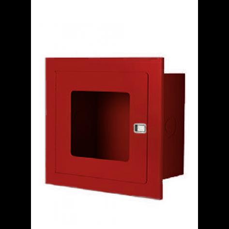 RECESSED VALVE CABINET 14 X 14 X8 RED