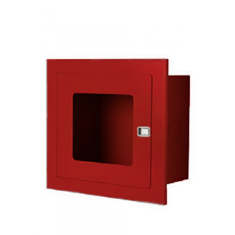RECESSED VALVE CABINET 14 X 14 X6 -RED