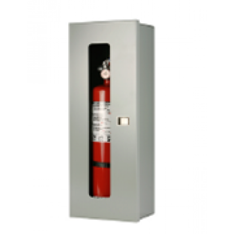 5LB SURFACE MOUNT EXTINGUISHER CABINET -GREY
