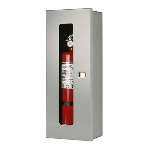 10LB SURFACE MOUNT EXTINGUISHER CABINET-GREY