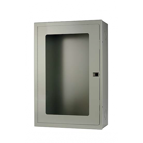 SURFACE MOUNT FIRE HOSE CABINET 20 X 30 X 8 -GREY