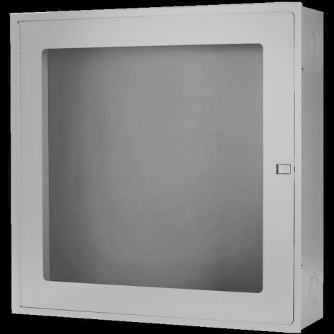 SURFACE MOUNT FIRE HOSE CABINETS 30X 30X8 STAINLESS STEEL