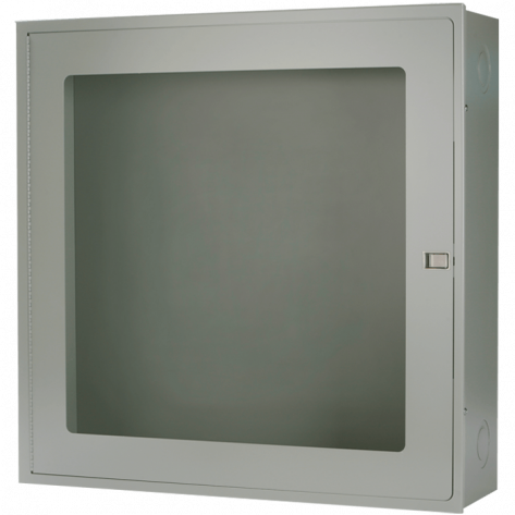 SURFACE MOUNT FIRE HOSE CABINET30 X 30 X 6 -GREY