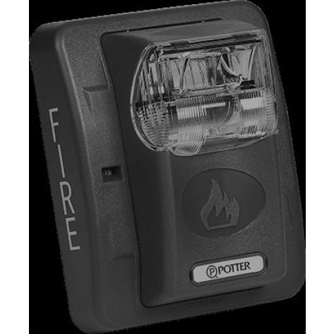 White Fire Alarm Strobe (12/24VDC)