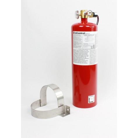 12 lb FM200 Automatic Clean Agent Fire Extinguisher Class A & C 278 cuft Class B 278 cuft c/w Pressure Switch